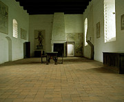 Europe Photo Originals - Castle Great Room by Jan Faul