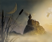 Storybook Prints - Castle in the mist Print by Bob Orsillo