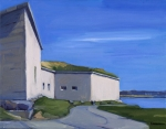 Independence Paintings - Castle Island by Deb Putnam