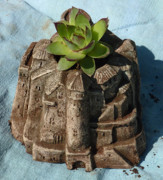 Fantasy Ceramics Originals - Castle by Katia Weyher