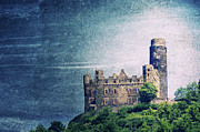 Castle Ruin Prints - Castle Mouse Print by Angela Doelling AD DESIGN Photo and PhotoArt