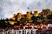 European City Mixed Media - Castle of St. George by Dariusz Gudowicz