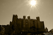 Castle Pyrography Metal Prints - Castle Metal Print by Ricardo Sousa