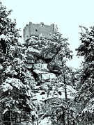 Ruin Photo Prints - Castle Ruin Flossenbuerg Print by Juergen Weiss