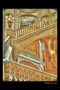 Mark Currier Art - Castle Stairs by Mark Currier