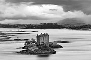 Great Britain Art - Castle Stalker - D002192bw by Daniel Dempster