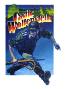 Game Painting Prints - Castle Wolfenstein Print by John D Benson