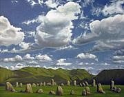Henge Paintings - Castlerigg by David Kelavey
