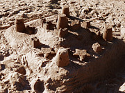 Sand Castles Prints - Castles Made Of Sand Print by Xueling Zou