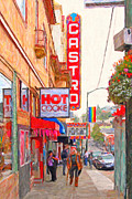 Transgender Art - Castro Street San Francisco by Wingsdomain Art and Photography