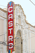 Transgender Art - Castro Theater in San Francisco . 7D7601 by Wingsdomain Art and Photography