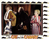 Fur Trim Posters - Cat And The Canary, Gertrude Astor Poster by Everett