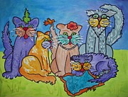 Ellen Levinson - Cat Family Gathering