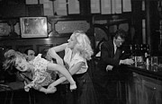 Crime Fighting Prints - Cat Fight Print by Bert Hardy