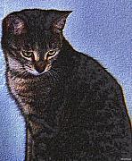 Cat Print by Johann Todesengel
