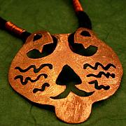 Charm Necklace Jewelry - Cat by Lynette Fast