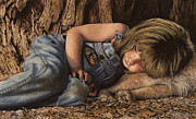 Overalls Originals - Cat Nap by Lindsay  Handyside