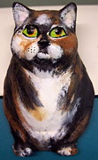 Colors Ceramics - Cat out of the Bag by Pamela Booth