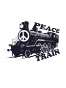 Stevens Prints - Cat Stevens - Peace Train is coming Print by Lee Brown