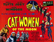 Sonny Prints - Cat-women Of The Moon, Bottom, Left Print by Everett