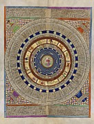 Colour Gold Prints - Catalan Atlas, 14th Century Print by Library Of Congress