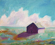 Tin Roof Paintings - Catawba Virginia Barn by Todd Bandy