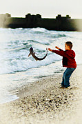 Release Digital Art Prints - Catch and Release Print by Bill Cannon
