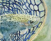 Loveland Artist Prints - Catch and Release Print by Mary Benke