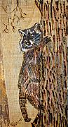 Trees Pyrography Originals - Catch Me If You Can by Margaret G Calenda