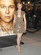 Cap Sleeves Prints - Cate Blanchett Wearing Alexander Print by Everett