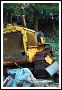 Old Cars Posters - Caterpillar Ten Poster by Awildrose Photography