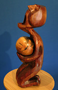 Expressionist Sculpture Originals - Catharsis by Windy Dankoff