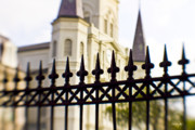 St. Louis Cathedral Framed Prints - Cathedral Basilica Framed Print by Scott Pellegrin