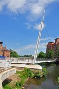 Architecture Photos - Cathedral Green Bridge at Derby by Rod Johnson