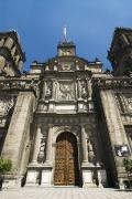 Maschmeyer Prints - Cathedral in Mexico City Print by Gloria & Richard Maschmeyer - Printscapes