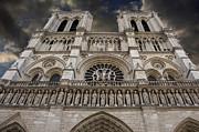 Cathedral Notre Dame Of Paris. France   Print by Bernard Jaubert