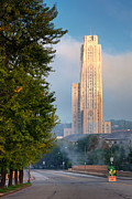 Cathedral Of Learning Prints - Cathedral of learning Print by Emmanuel Panagiotakis