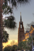 Catholic  Church Originals - Cathedral of Saint John the Baptist Charleston by Dustin K Ryan