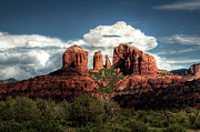 Red Rocks Framed Prints - Cathedral Rock - Sedona  Framed Print by Saija  Lehtonen