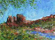 Red Rock Crossing Originals - Cathedral rock crossing by William Tockes