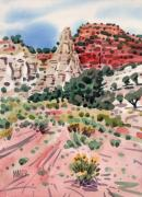 Cathedral Rock Paintings - Cathedral Rock by Donald Maier