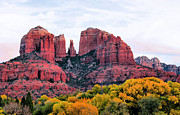 Cathedral Rock Photo Framed Prints - Cathedral Rock Framed Print by Kristin Elmquist