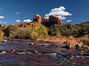 Red Rock Crossing Prints - Cathedral Rock Sedona Print by Joshua House