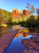 Iphone Framed Prints - Cathedral Rock Sedona Framed Print by Matt Suess