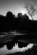 Matt Suess Prints - Cathedral rock sunrise Sedona arizona Print by Matt Suess