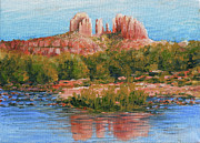Red Rock Crossing Originals - Cathedral Rock by William Tockes