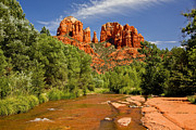  Cathedral Rock Prints - Cathedral Spires Print by Larry Roberson