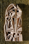 Clay Sculptures - Cathedral by Vladimir Kozma