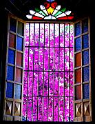 Michael Metal Prints - Cathedral Window by Michael Fitzpatrick Metal Print by Olden Mexico