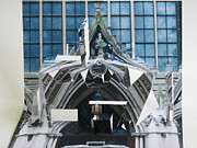 Photo Sculptures - Cathedreal Reconstruction by Alfred Ng